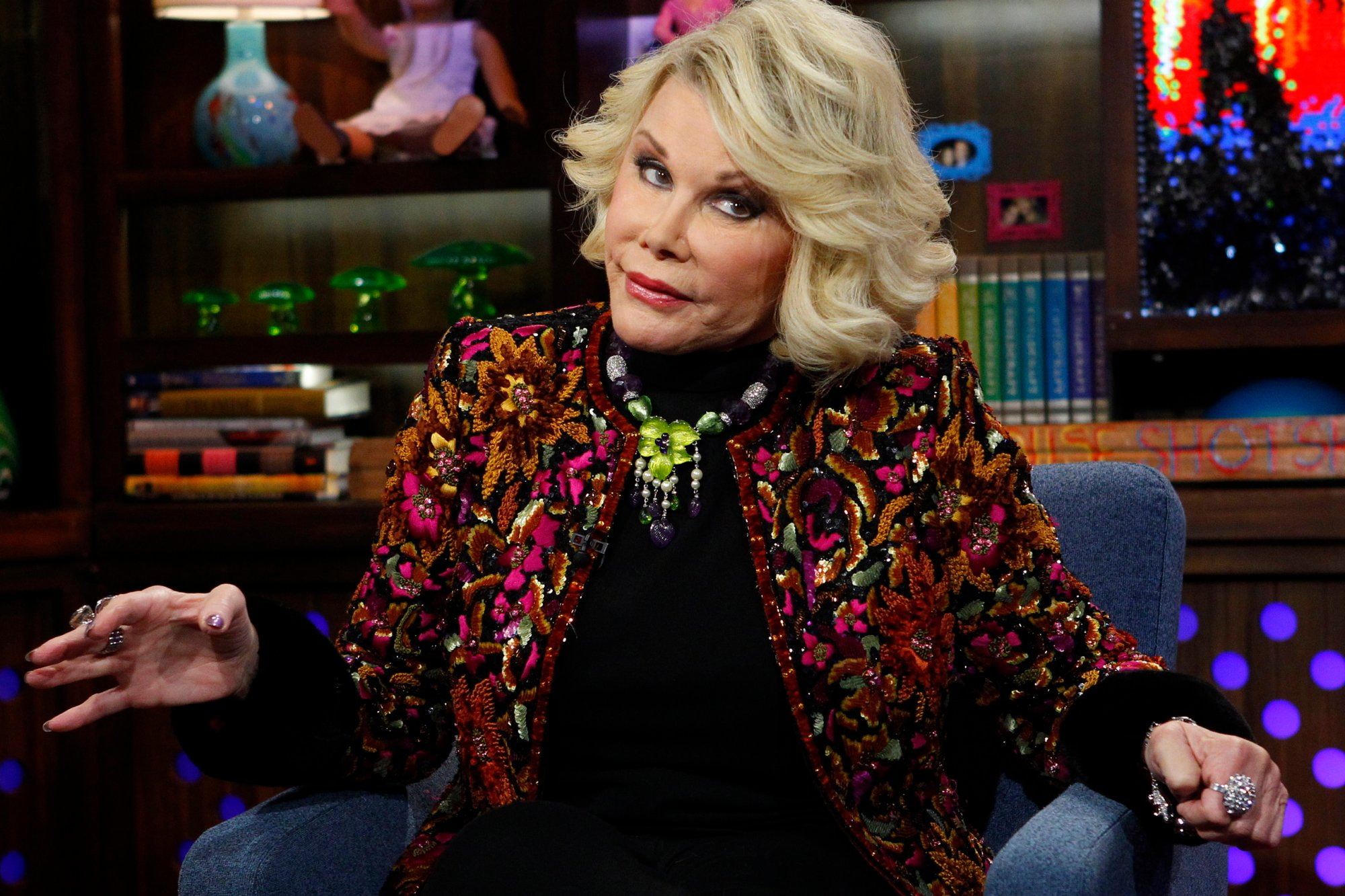 Photos The Life And Times Of Fashion Police S Joan Rivers