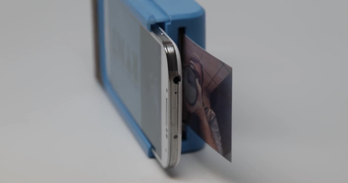 this phone case lets you print photos directly from your phone
