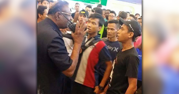 rm70,000 worth of electronics destroyed after a scuffle broke out at