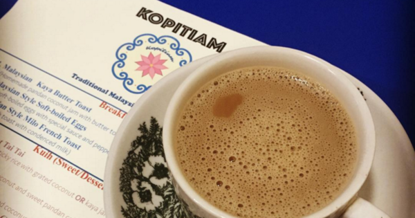 Americans Can't Get Enough Of Malaysia's White Coffee From This Kopitiam In New York City