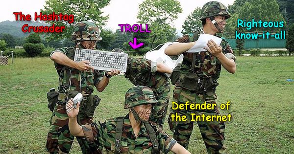 Quotes Keyboard Warrior Meme