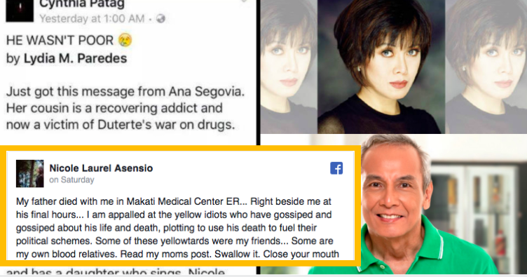 Asensio Family Calls Cynthia Patag And Jim Paredes 'Liars