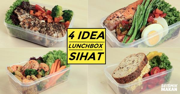 4 Idea Lunchbox Sihat Ini Khas Untuk Mereka Yang Ingin Cuba