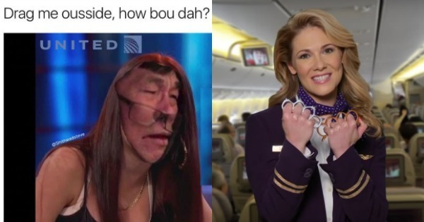 12 Most Savage Memes And Responses To United Airlines