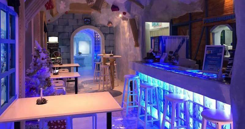 The First Ice-Themed Café In Malaysia Is A Perfect Retreat For When You Can't Stand Heat