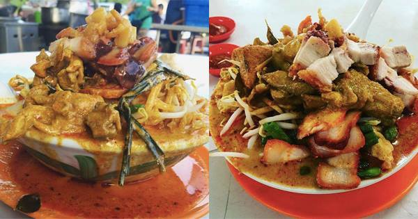 People Are Willing To Wait For 2 Hours To Eat This Famous XXL Curry Mee In Selayang