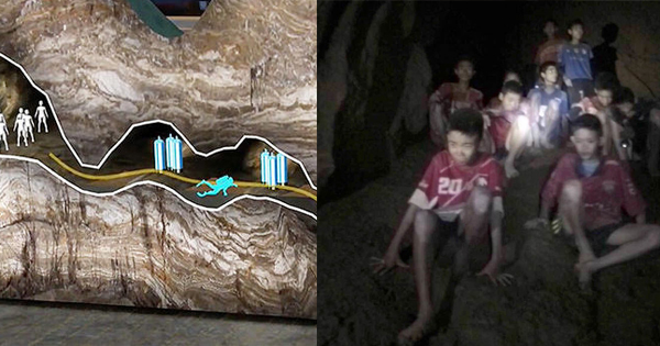 4 Of The Thai Boys Trapped In A Cave Have Escaped  Here U0026 39 S How Rescue Divers Did It