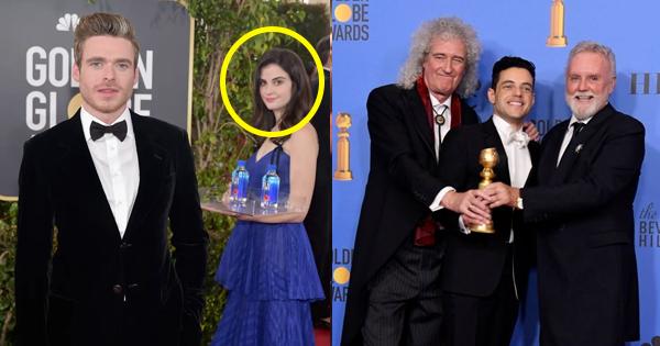 Fiji Water Girl Rami Malek Wins Best Actor And 23 More
