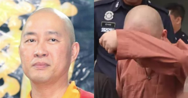 A Buddhist Monk Has Been Arrested For Sexually Assaulting His Students In Segamat