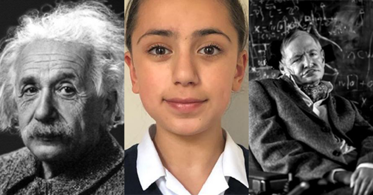 Image result for 11-Year-Old Iranian Girl Gets the Highest Mensa IQ Score, Beating Einstein, Hawking