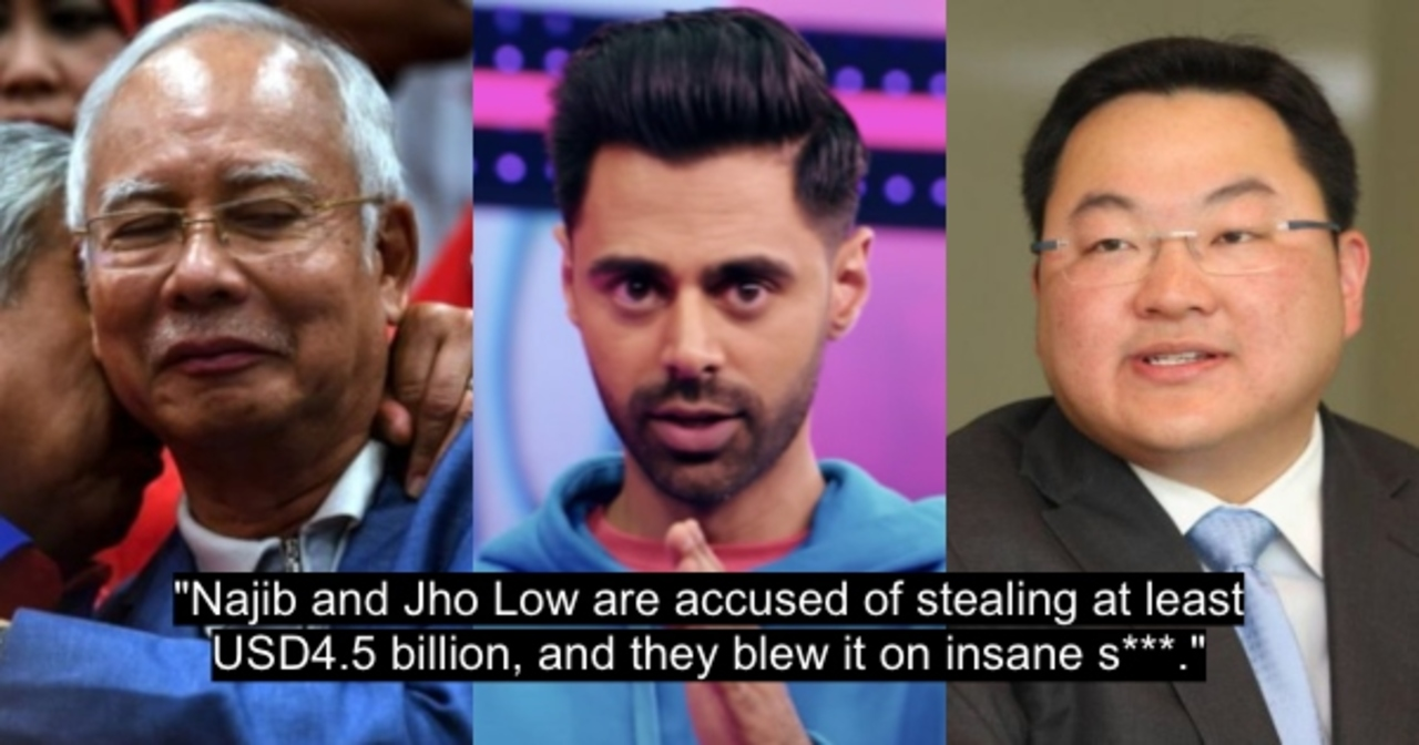 Comedian Hasan Minhaj Roasts Najib, Jho Low, And The 1MDB Scandal