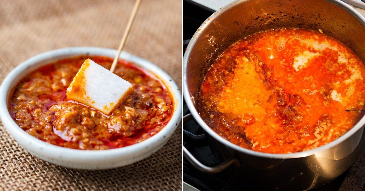 lebih  shares resepi kuah kacang  bahan  mudah dibuat   menyelerakan Resepi Kuah Nasi Impit Sedap Enak dan Mudah