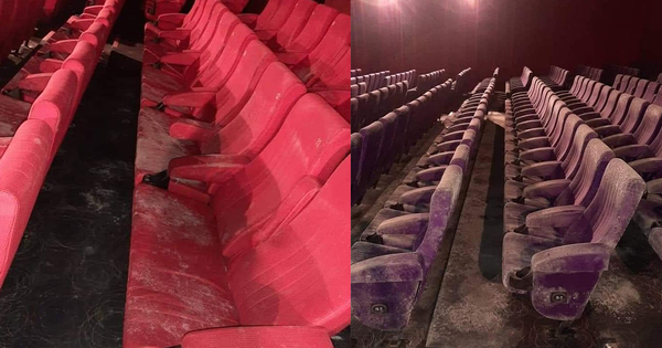 Cinema Sofa Seats Have Allegedly Grown Mould After 2 Months Of MCO
