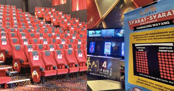 Terengganu Cinema Separates Non Mahram Men Women On Top Of Half Capacity Rmco Measure