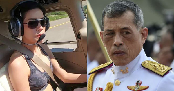 Thai King back with official mistress after she was purged