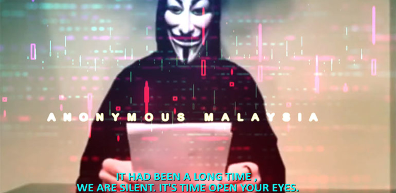 Vigilante Hacktivist Group Anonymous Malaysia Warns Govt To Tighten Cybersecurity