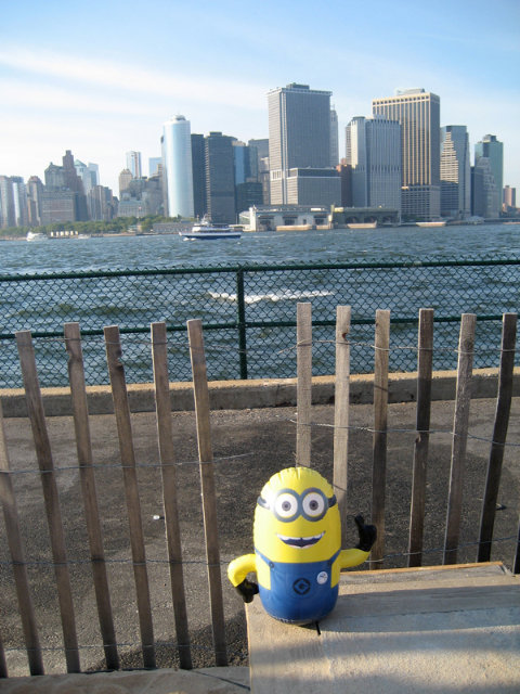 A minion spotted in New York.