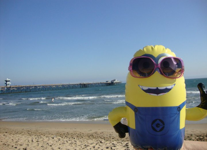 A minion spotted in Pomona, US.
