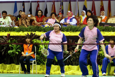 In sports, she is a patron of the Badminton Association of Malaysia