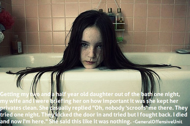 Scariest Things Your Kids Said