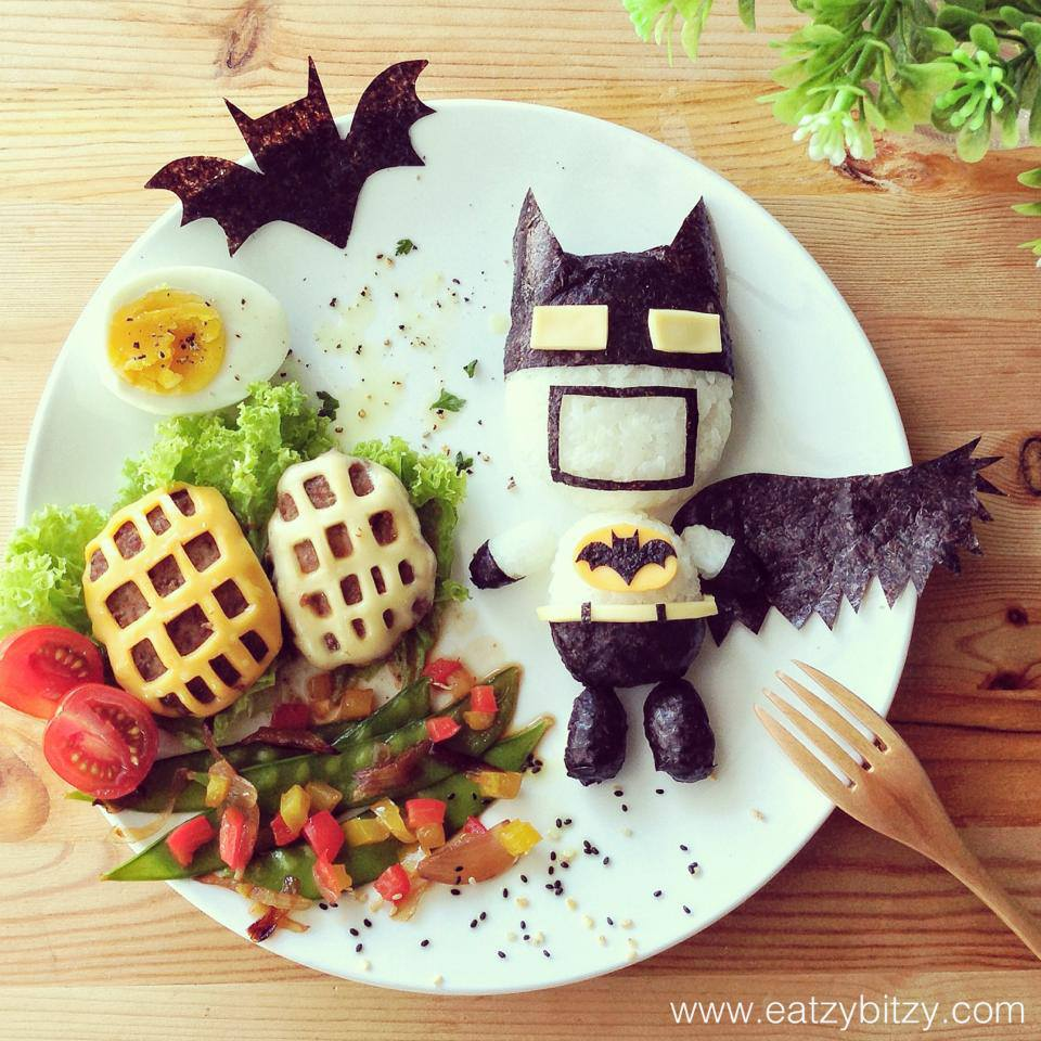 Batman Forever!   Here comes the hero to safe the day. I made Batman Forever food theme for my kids on my husband's birthday every year. Happy Birthday to my dear husband.   - created July 2013 Instagram @leesamantha - Taken with HTC One