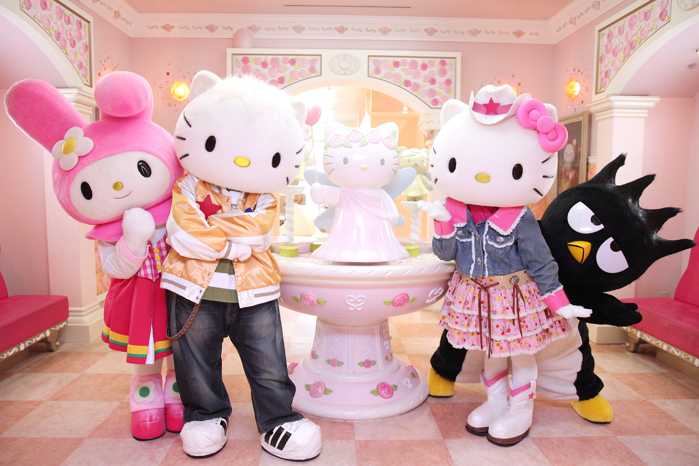 Hello Kitty town is the first Sanrio Hello Kitty theme park outside of Japan, consists of various walk-through attractions, interactive activities and rides which follow the Hello Kitty theme.