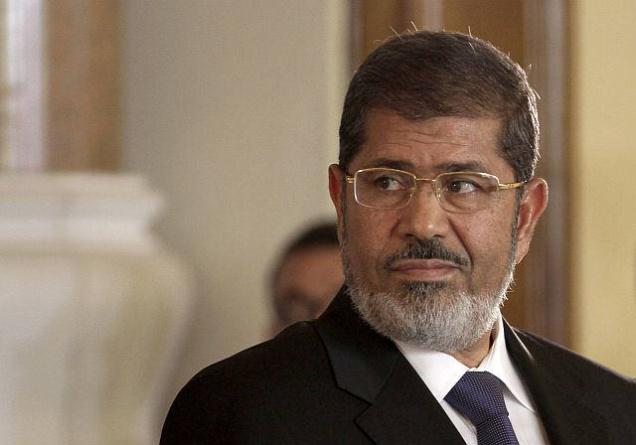 File photo of Mohamed Morsi.