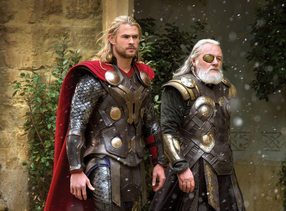 """Movie still from """"Thor: The Dark World."""""""