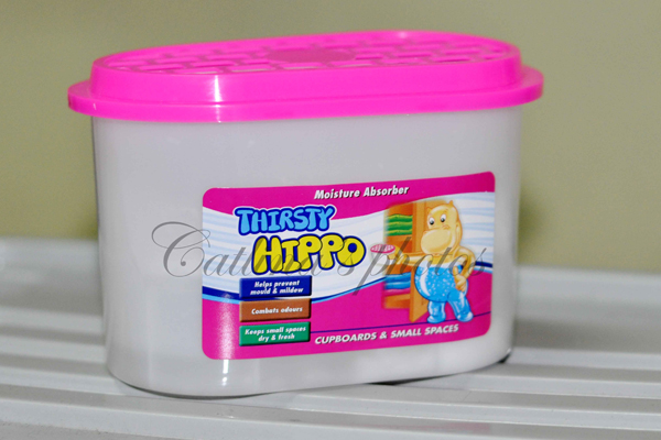 Thirsty Hippo is a brand of moisture absorber.