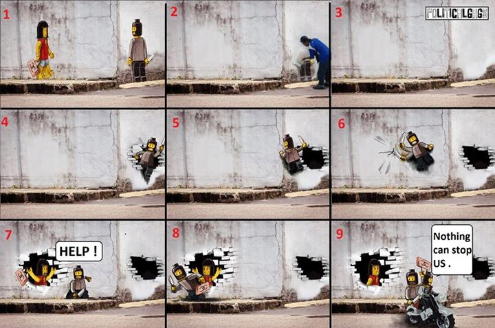 10 memes malaysia made out of the controversial johor lego for Mural 1 malaysia
