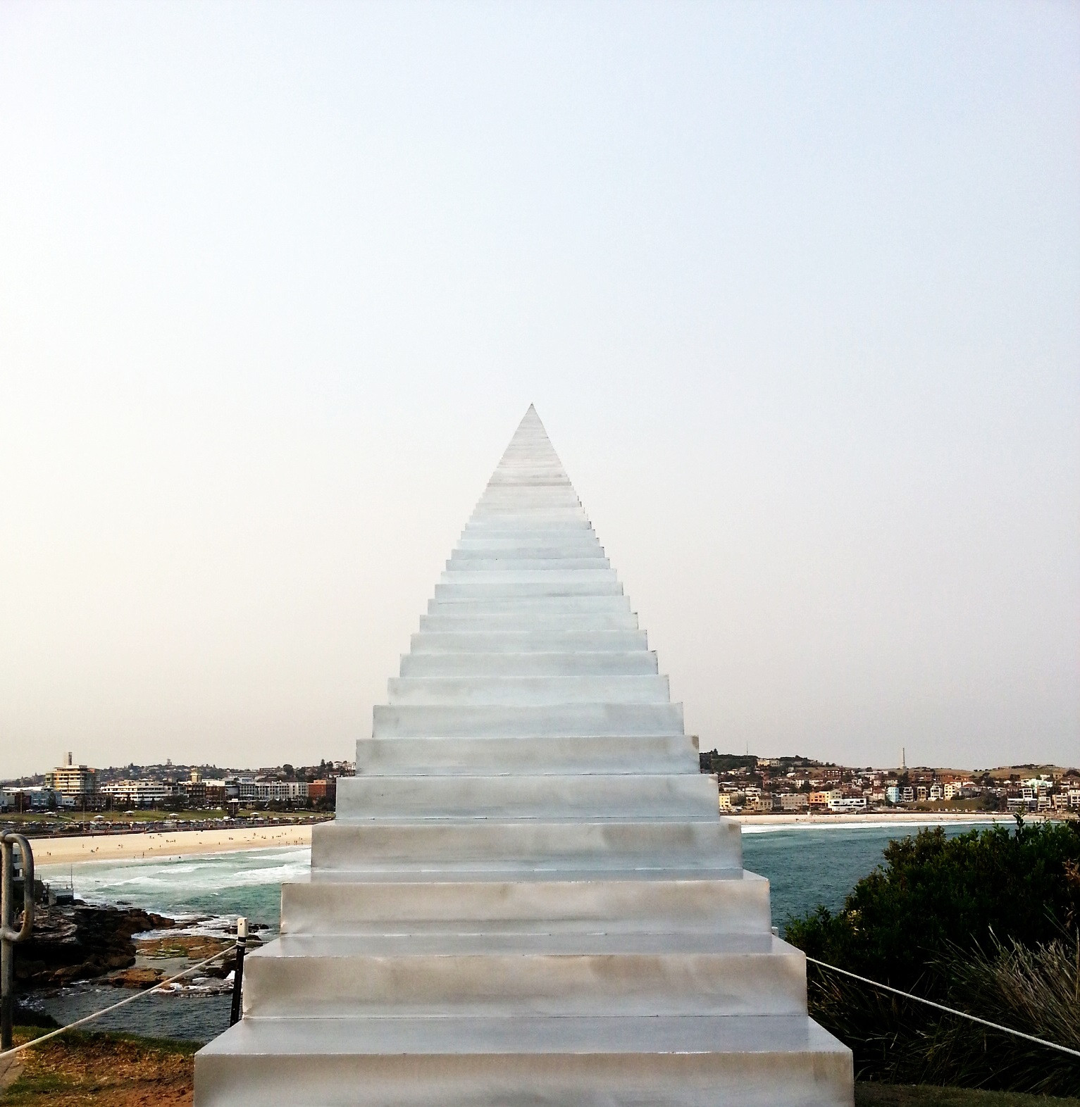 Is This Incredibly Sculpted Infinite Stairway Actually