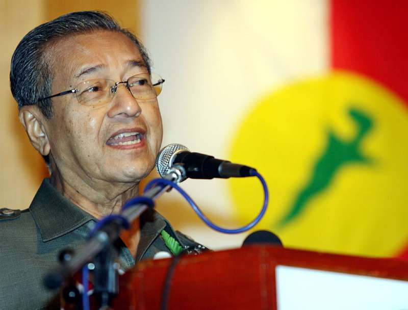 contribution of tun dr mahathir mohamad New york (sept 27): tun dr mahathir mohamad has predicted that umno, the backbone of the barisan nasional that was removed from power in malaysia's general election in may, is going to collapse.