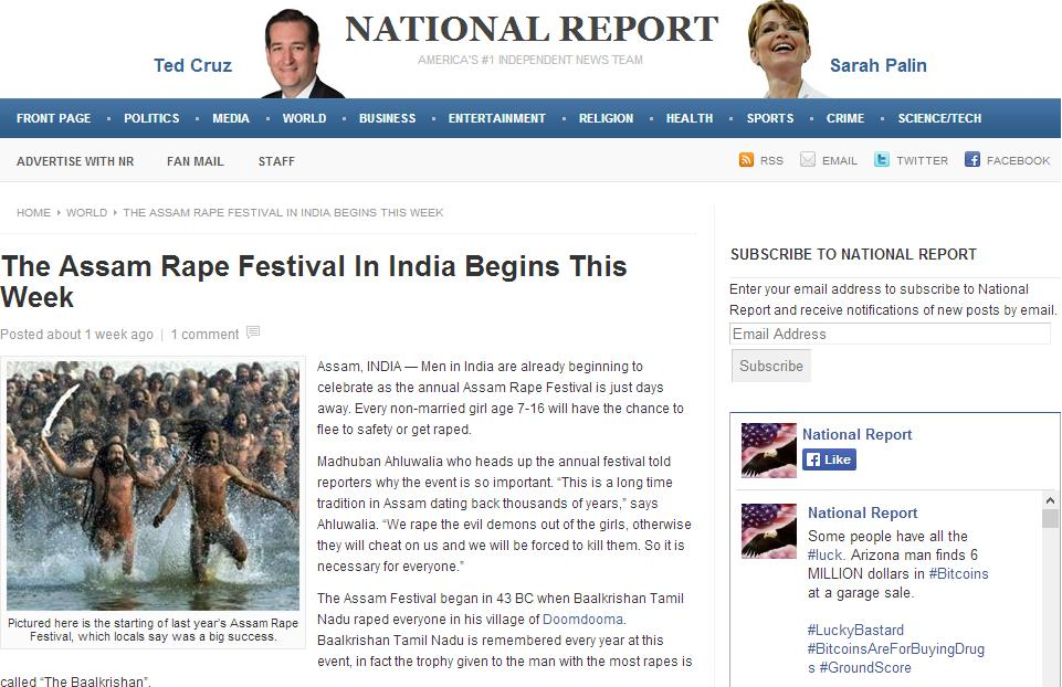 The link to the article: http://web.archive.org/web/20131112235934/http://nationalreport.net/assam-rape-festival-india-begins-week/