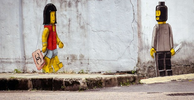 The Worsening Crime Rate In Johor Bahru Has Also Spurred Artist Ernest Zacharevic To Paint This Controversial Mural In Johor