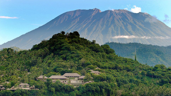 Mount Agung, Bali, Indonesia.