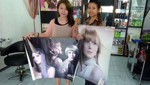 Hair Salon operators in Kelatan were ordered to remove posters of hair models who did not cover their heads