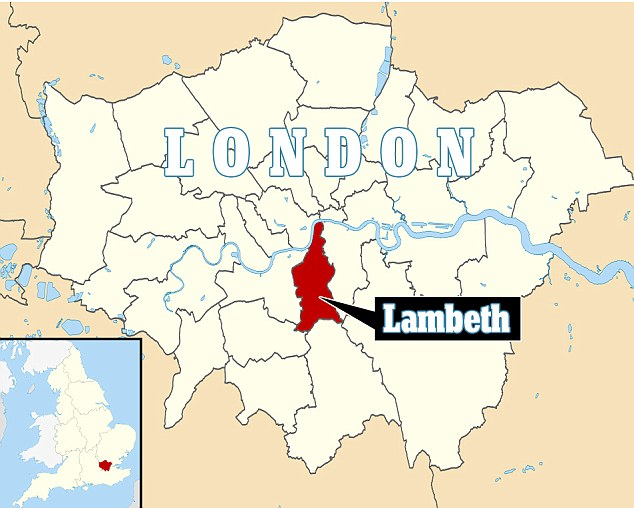 Location: The three women were discovered in a house in the London borough of Lambeth, which runs to Waterloo, Stockwell, Brixton, Vauxhall, Streatham and Clapham areas of south London