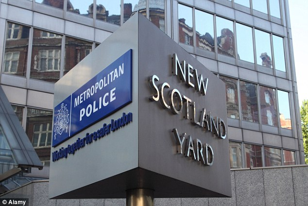 Shocking discovery: Scotland Yard said that one of the victims called a charity to say she was in captivity for thirty years and they then helped rescue her and two others