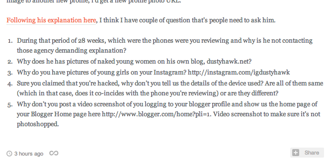 Author of LightYoruichi poses questions to author of Dustyhawk.net - Lionel Goh aka 'Serge'.
