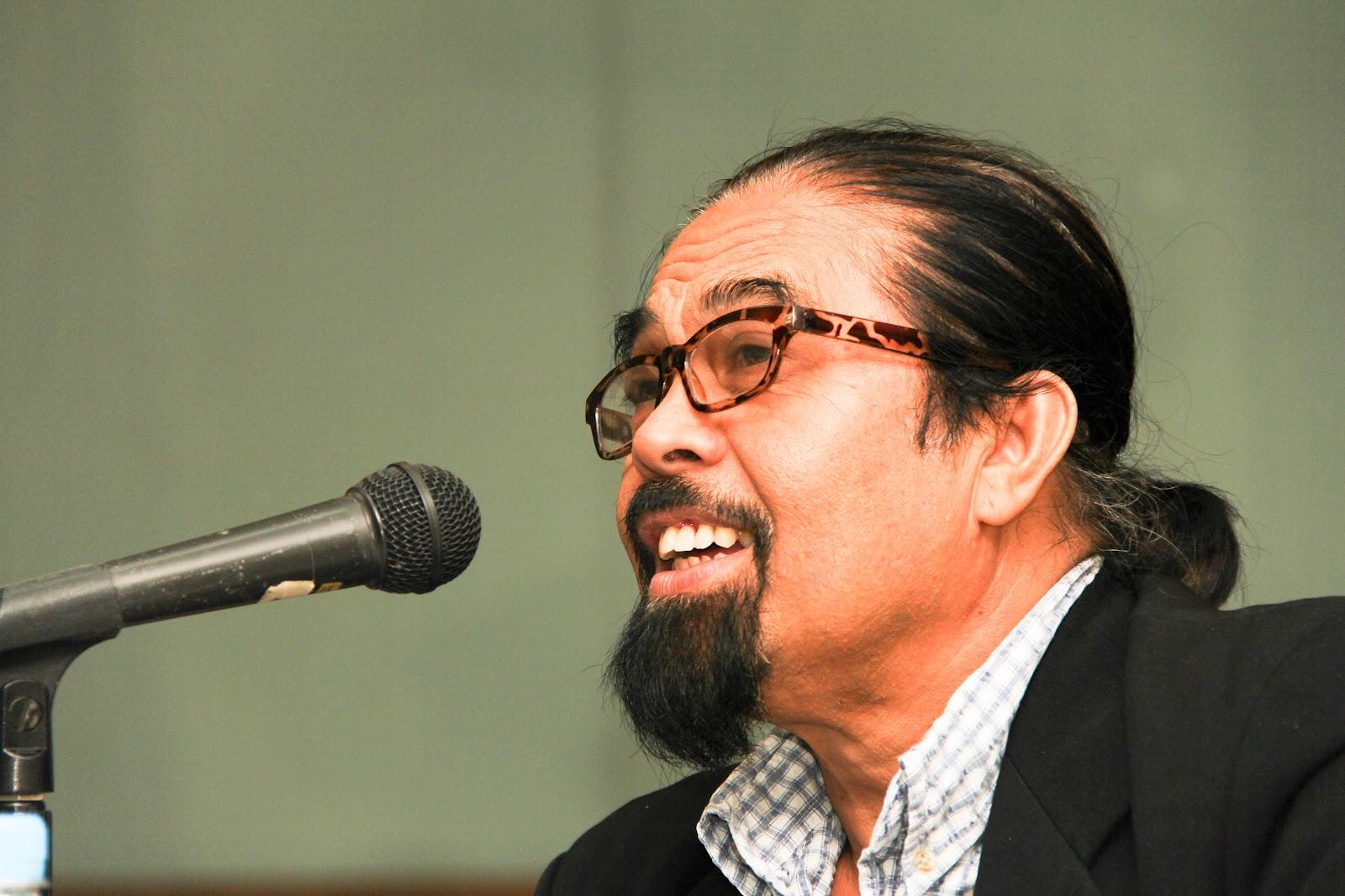 "Photo of Hishamuddin Rais - he runs a blog called ""TukarTiub""."