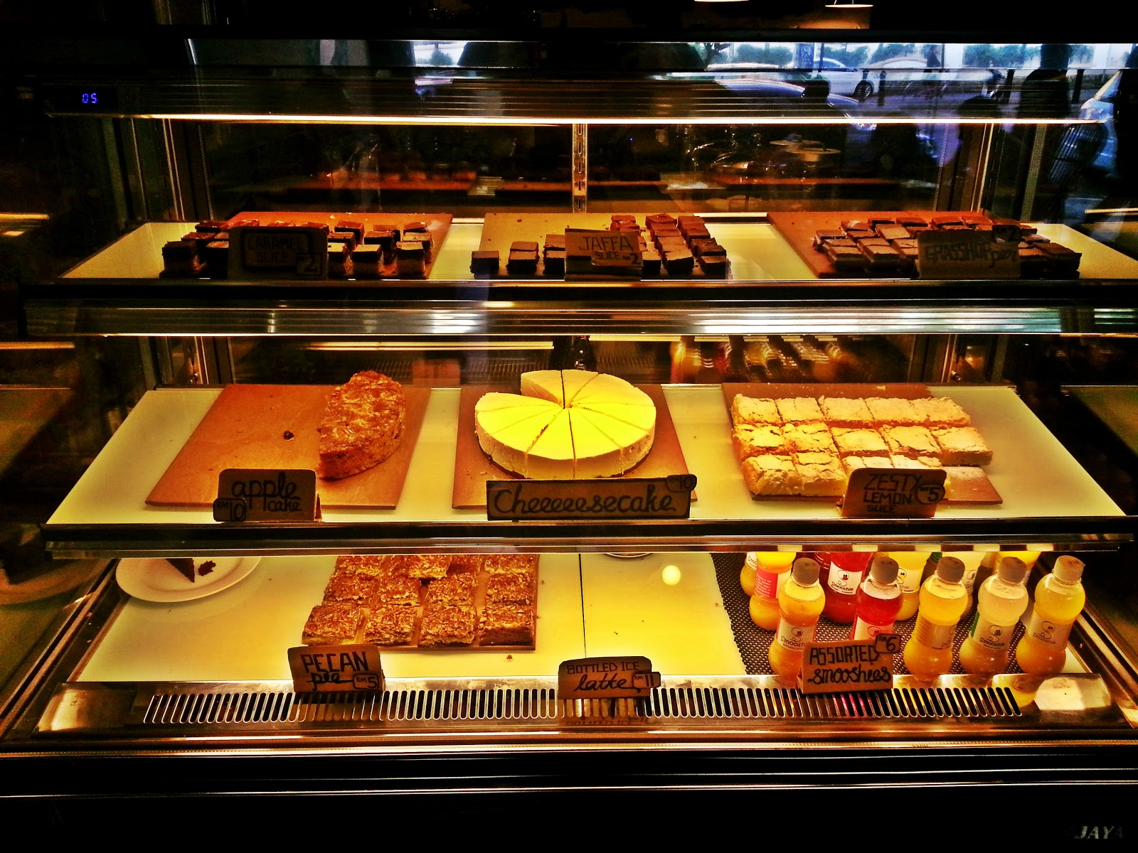 Selection of delicious cakes on display. Photo from Eatisdaisai.