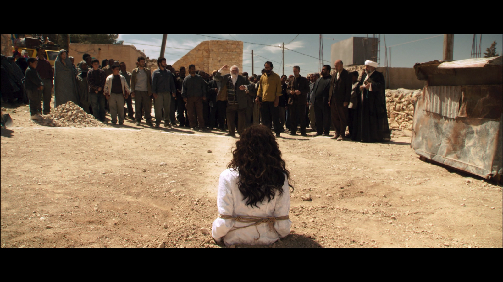 Scene from the film The Stoning Of Soraya M.
