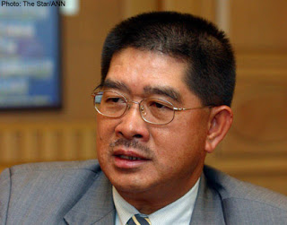 Energy, Green Technology and Water Minister Datuk Seri Dr Maximus Ongkili