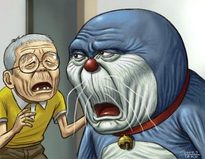 If Doraemon and Nobita were old, we would still love them