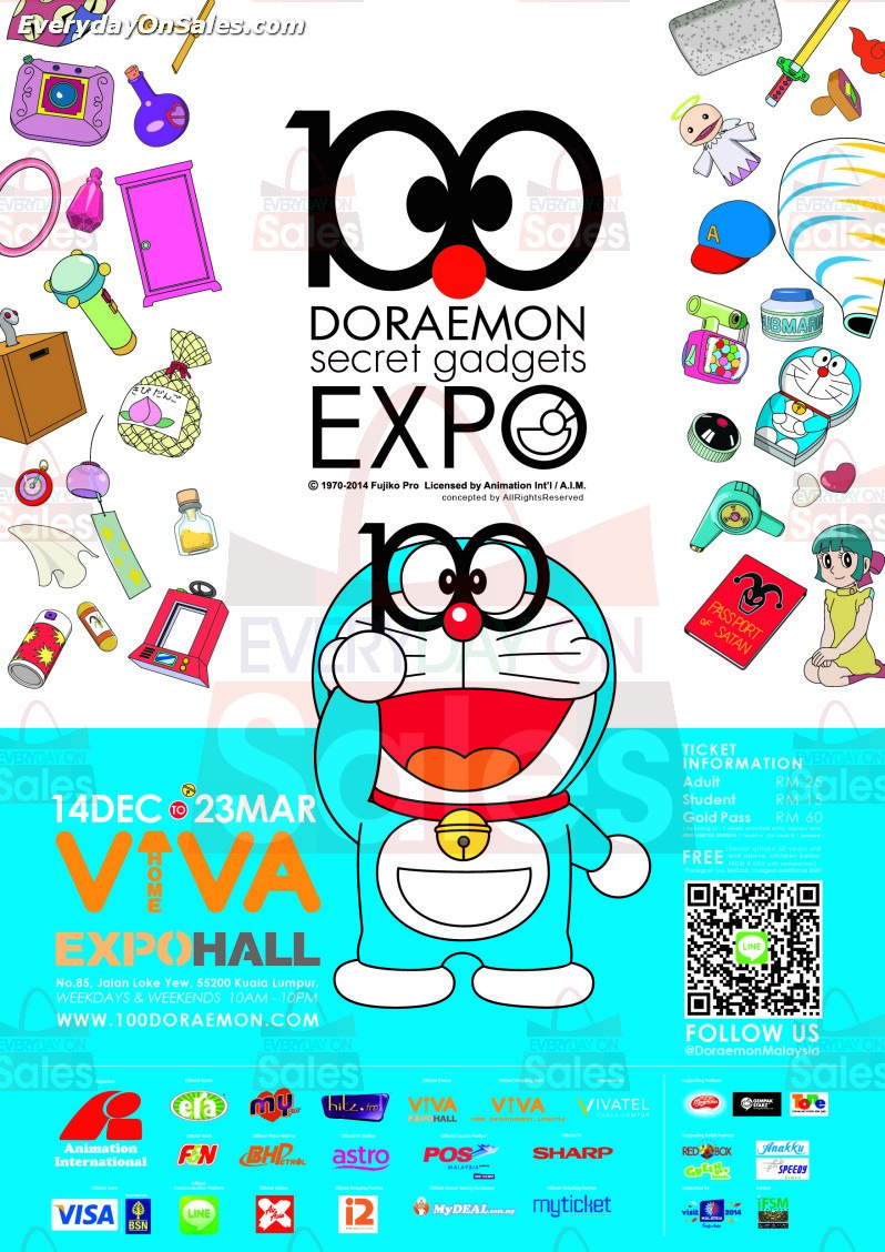 Doraemon is coming to town this December 2013