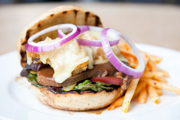 Acme Bar & Coffee's Surf and Turf Burger was named one of the top 40 cafe foods in KL. Photo from Timeout KL.