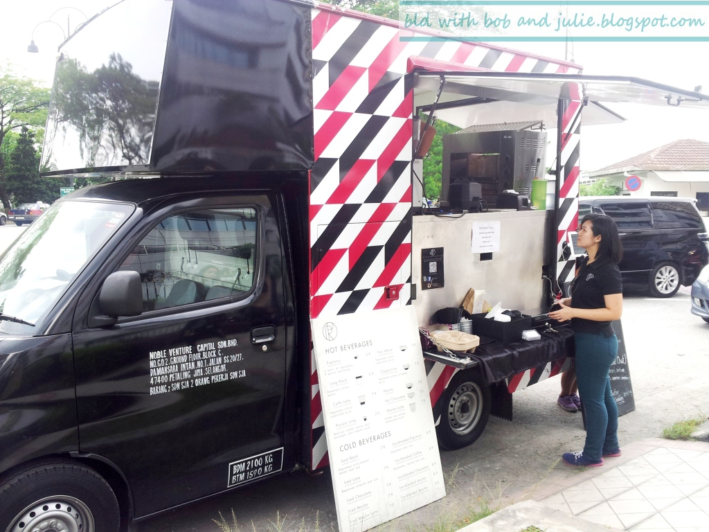 Royal Post even has their own coffee truck! Photo from BidwithBobandJulie.