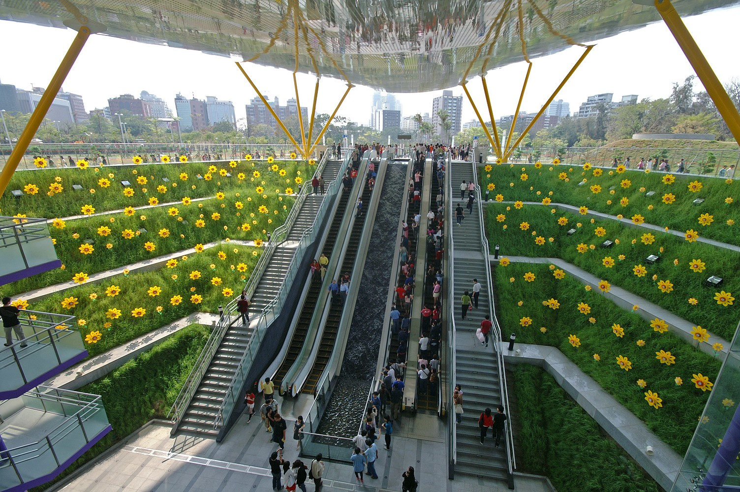 Central Park Station Station - Kaohsiung, Taiwan