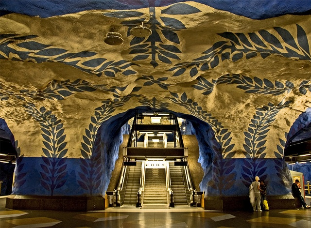 """In """"T-Centralen,"""" """"T"""" is an abbreviation for """"tunnelbana,"""" which in Swedish means """"underground"""" or """"subway."""""""