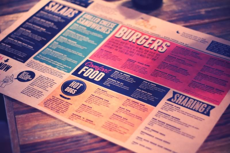 Such indie-looking menu! Photo from Miasuraya.